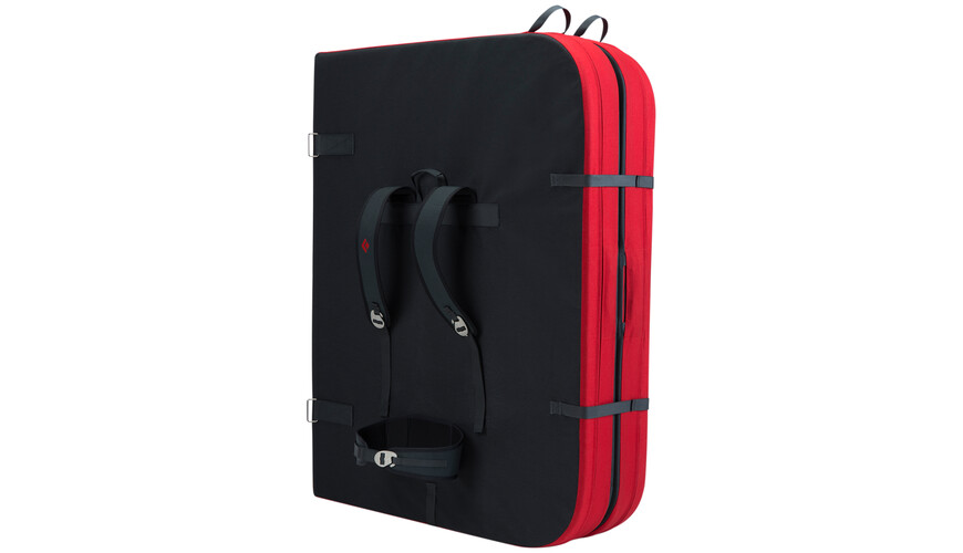 Black Diamond Mondo - Crashpad - rojo/negro
